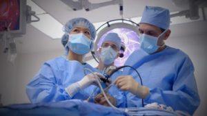 Операция лапароскопии