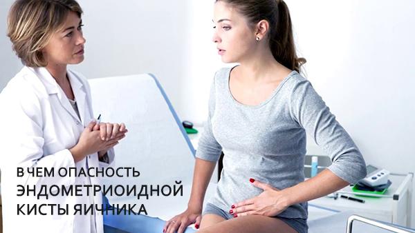 Симптомы и лечение эндометриоидной кисты яичника