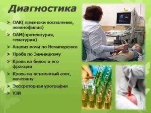 виды диагностики болезней почек