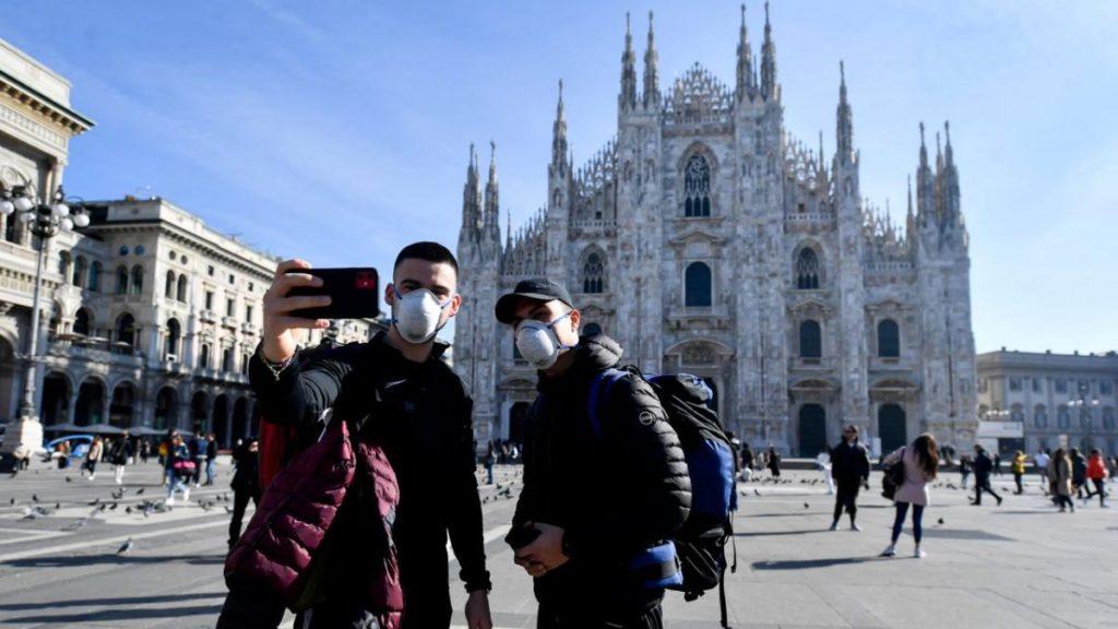 статистика заражения коронавирусом в Италии